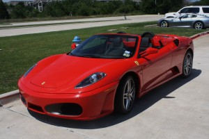 Ferrari 430 Spider Hire